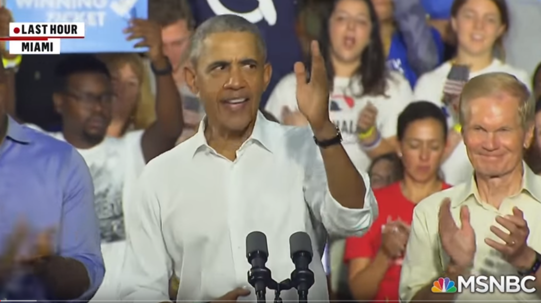 Obama campaigns for Gill in Florida